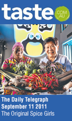 Bau Truong in The Daily Telegraph Taste section, Cover Story - The Original Spice Girls