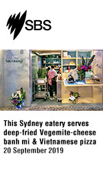 This Sydney eatery serves deep-fried Vegemite-cheese banh mi and Vietnamese pizza