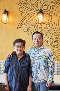 Bac Cang and Michael of Bau Truong restaurants