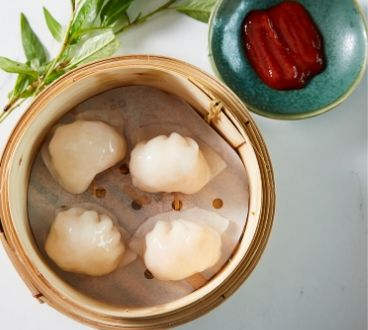 Bau Truong at Harbord Diggers - prawn dumplings